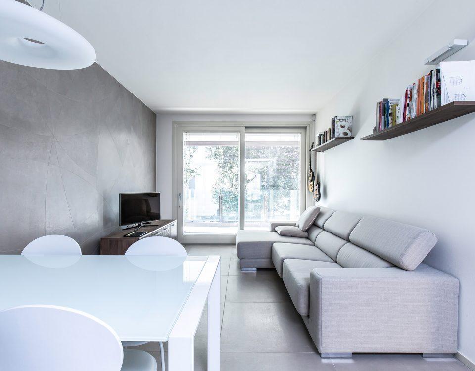 Progetto di interior design bilocale Parma